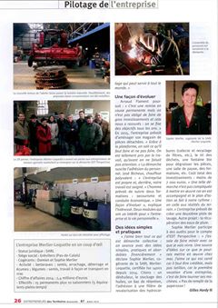 Article : SARL MERLIER LEQUETTE